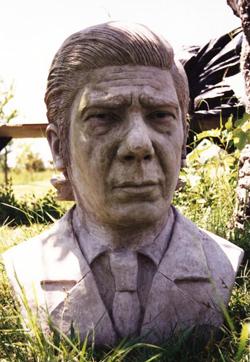 Busto de Evita en La Habana iba a ser inaugurado por