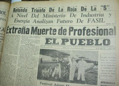 Resultado de imagen para Pedro Arnaud Arquitecto Hallado muerto el 20 de abril de 1975