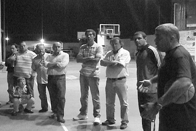 Juventus con técnicos y dirigentes