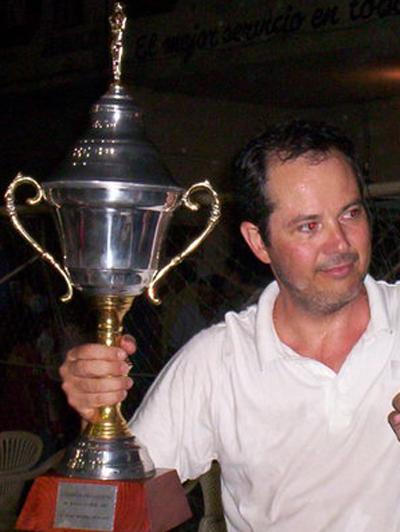 Ricardo Corbella, DT de las selecciones formativas hace un par de años atrás, cuando salio campeón con Universitario