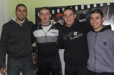 Miguel Haboosh, Nicolas Pedrozo, Ramiro Mazzula, Mariano Techeira