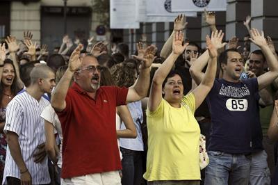 protestaEspaña