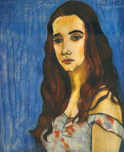 Marosa, retrato de José Cziffery