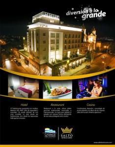 OP Salto Hotel & Casino - Aviso para Suplemento Turístico de El Pueblo CMYK