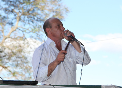 Francisco Cánepa vuelve hoy a empuñar el martillo en Artigas.
