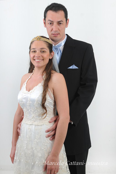 boda Matias Daniel Ocampo  Montana - Anyela Valeria Romaniuk Seballos - foto M. Cattani