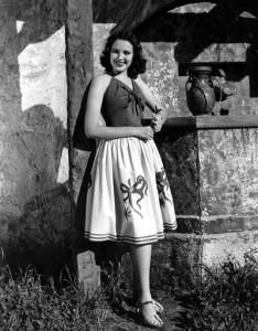 La actriz en 1940.   4