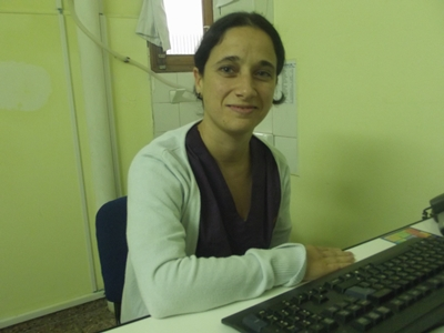 Con la Licenciada en Nutrición  Virginia Lima