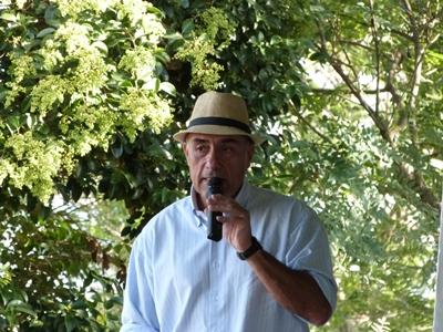 Germán Gaudín, uno de los martilleros de la firma.