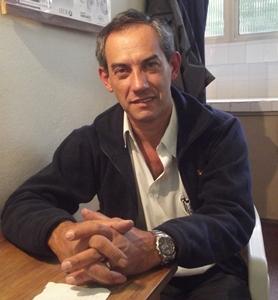 Con  el doctor Oncólogo- Clínico  Julio Alfredo Costanzo Galmarini