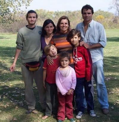 estela gauthier y sus hijos