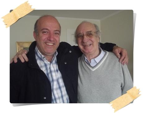 German Coutinho y padre