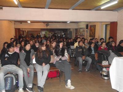 Sala del Liceo Grompone