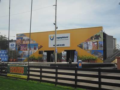 Stand del Ministrio del Turismo y Deporte en la Expo.