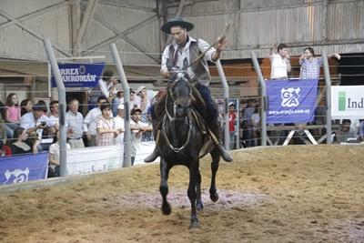 A la derecha de la imagen, Gastón Araújo y Fernando Indarte.