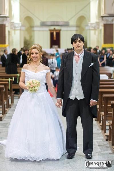 boda Nazareno  Pizarro Mutte - María de Lourdes Trhiy Piastri - foto Imágen digital