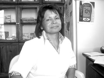 Mónica Patricia Santa Cruz, Presidenta de A.DI.SA