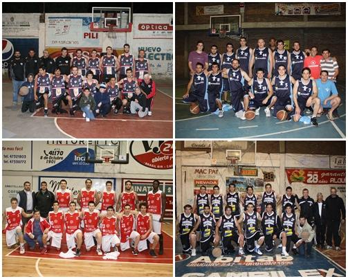 Los equipo semifinalistas