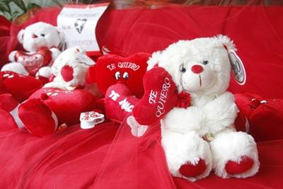Los arreglos florales y los muñecos de peluche fueron algunos  de los productos más consumidos para San Valetín.