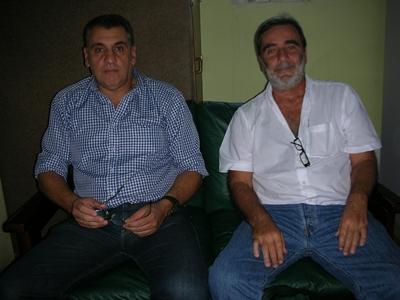 LATU Walter Arriola y Angel Pintos