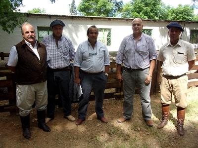 Integrantes de los escritorios y de las cabañas ayer en Rivera
