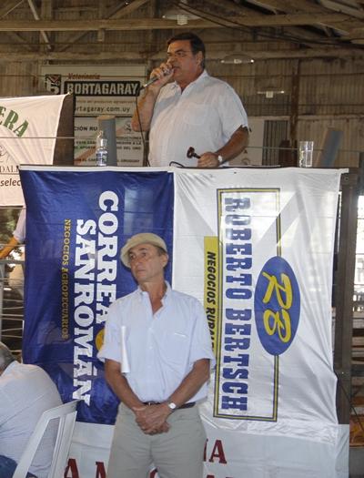Martín San Román y Carlos Martín Correa,  integrantes de Correa y San Román