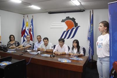 Club del Este presentó lanzamiento junto a autoridades del CCIS.