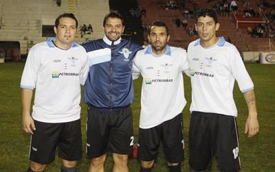 Cirilo Mora, George De Los Santos, Robert Rodriguez y Mauricio Valeinte