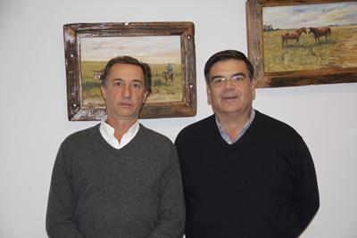 Carlos Martín Correa y Martín San Román