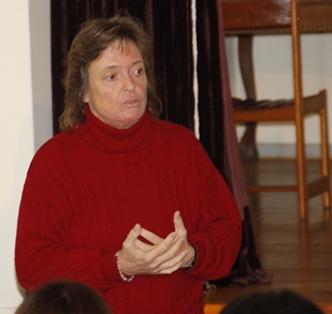 Cecilia Miller, secretaria de Salud Laboral de la FUS