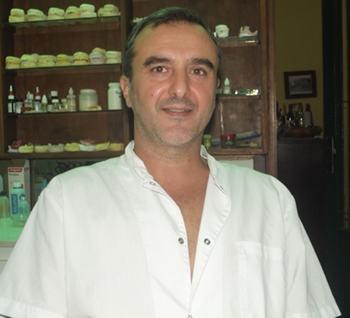 Con el doctor: Hugo  Bolonini
