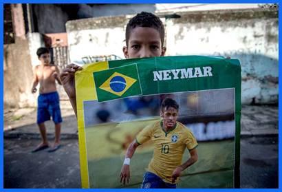 Neymar fue la gran figura del día.