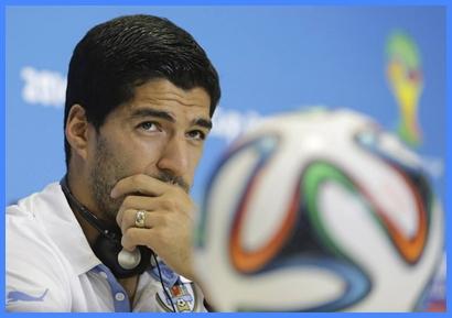 Tras ser informado de la sanción, Suárez lloró de impotencia.  No esperaba un golpe tan duro.
