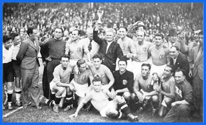 Italia conquistó en Francia 1938 su segundo Mundial de fútbol, un deporte  que en aquellos tiempos era una cuestión política.
