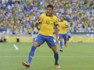 Con apenas 22 años, Neymar es la figura excluyente del país anfitrión