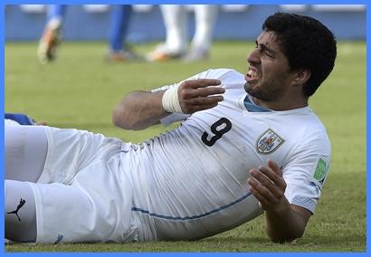 Suárez no podrá ni siquiera asistir a un partido  de fútbol por cuatro meses.