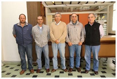 Miguel Olegui, Julio Gaudín, Juan Luis Gaudín, Germán Gaudín y Enrique Beriau