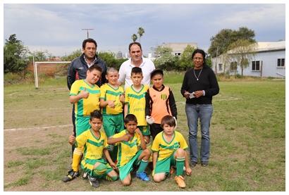 El club La Blanqueada, el más humilde del fútbol infantil salteño