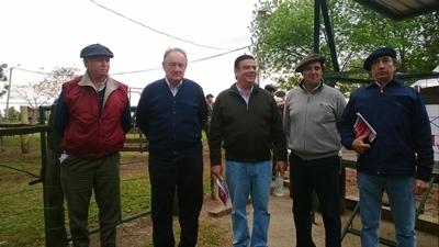 Alejandro Stirling, Roberto Bertsch, Martín San Román, Diego Otegui y Carlos Martín Correa