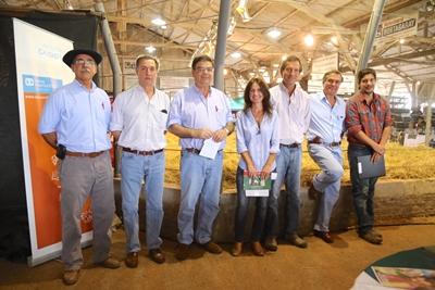 <p>César Melo, Carlos Martín Correa, Martín San Román, María Mattos, Carlos Guinovart,  Gerardo Zambrano y Alejandro Zambrano</p>