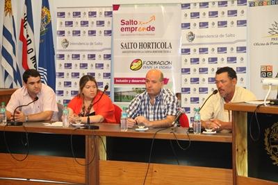 <p>Joaquín Martinicorena, Carolina Ferreira, Germán Coutinho y Olimar Arrieta</p>