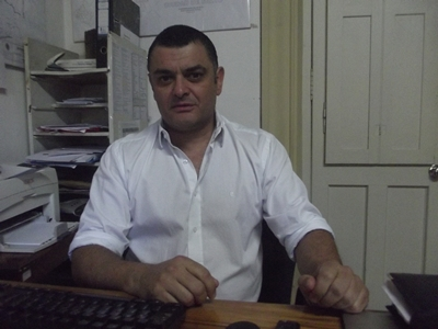 Con el Dr.: Enzo Squillace.