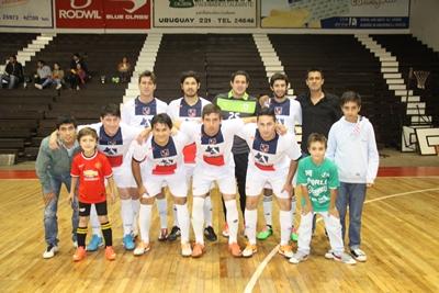 <p>Equipo de Círculo Sportivo Futsal, que tras buena producción en cancha,  consiguió un valioso, y merecido empate ante el puntero Ferro Carril el  pasado miércoles, en el juego destacado de la 5ª fecha del Apertura</p>