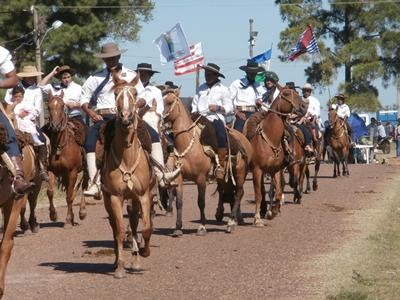 El desfile el año pasado reunió a más de 500 caballos