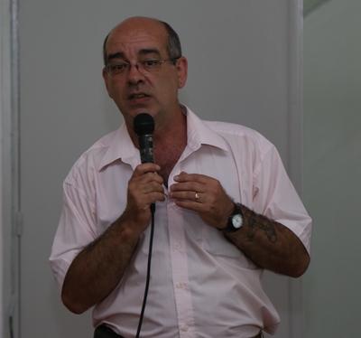 Mario Trindade en la disertación del viernes anterior