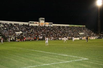 Nuestro principal escenario deportivo lleno de punta a punta apoyando a la Selección de Salto la pasada temporada.