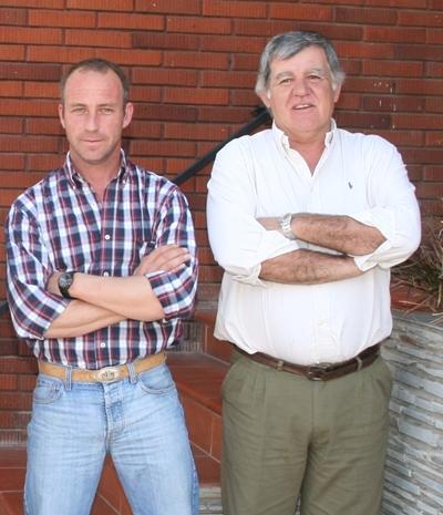 Héctor Sorondo y Denis Capdevielle-  Foto: Archivos de EL PUEBLO