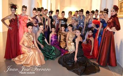 Uno de los elencos vestidos por Ferraro