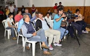 Parte de los delegados de los equipos participantes en el Torneo Municipal