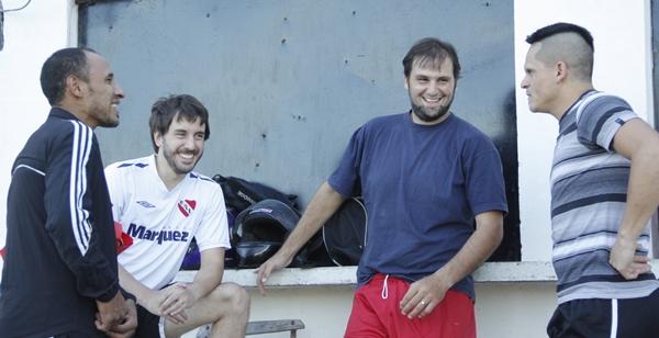 Marcio Backes,  Juan Iriarte,  Marcelo Malaquina y Carlos Vera la suma